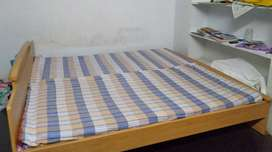 Double cot bed 6 / 6 bed with along