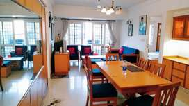 Kowdiar jn, luxuriously Furnished 3BHK flat available for rent