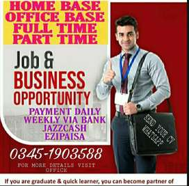 Home based and official job