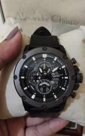 Jam tangan second alexandre christie ac 6416 mc