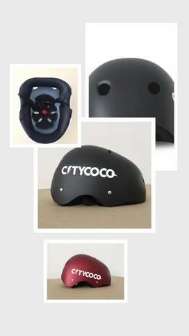 Helm Citycoco, cocok untuk sepeda dan kendaraan listrik scooter.