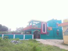 Newly constructed individual house for sale.