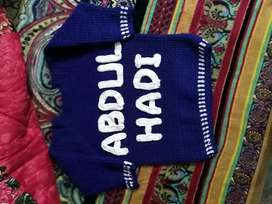 Named sweater