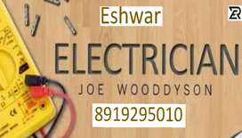 All electrical works and repairs and house wirings
