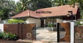 2 bhk semi furnished single store RC house,