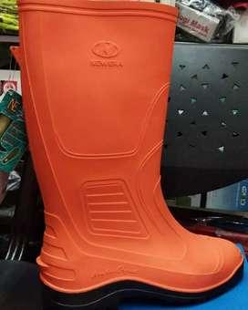 Sepatu boot karet new era Oren