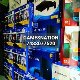 ALL TYPES OF GAMING CONSOLES WITH 1 YEAR WARRANTY