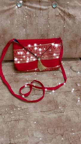 Red Casual Bag