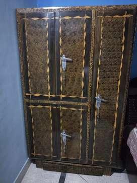 Iron almirah double door