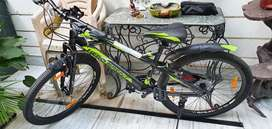 Brand new ..just 4 days old gear bicycle with 21 gears