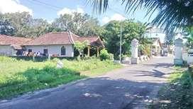 Tanah Tepi Jalan Aspal 6m Lokasi Sangat Berkembang di Jl Magelang Km 9