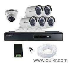 6 HD CCTV Camera installation