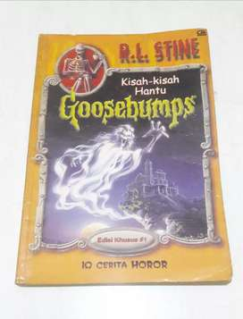 Koleksi novel legendaris GOOSEBUMPS karya R.L Stine edisi khusus #1