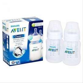 Avent Classic plus botol susu 260ml isi 2