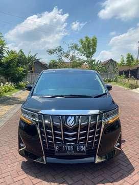 Toyota Alphard G ATPM 2018/2019 AT Km 28 Rb Antik