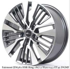 Velg FAIRMONT JD8382 HSR R18X75 H5X114,3 ET45 DGMF