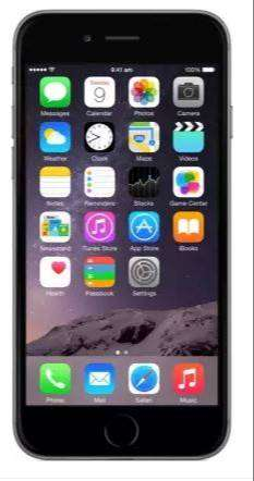 Apple iPhone 6 (Space Grey, 16 GB