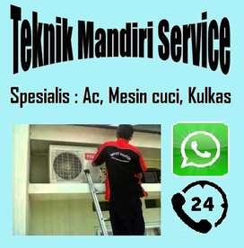 Rajanya service Mesin cuci Kulkas Ac , Bongkar pasang Ac (murah)