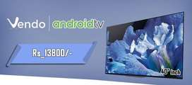 40 INCH Android TV 1GB / 8GB @13800 INR FRESH PIECE