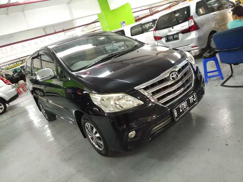 Toyota Innova 2.0 G AT Barong Th.2015 Hitam Sporty 0