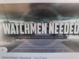 Watchmen needed fulltime to take care of house at kondapur