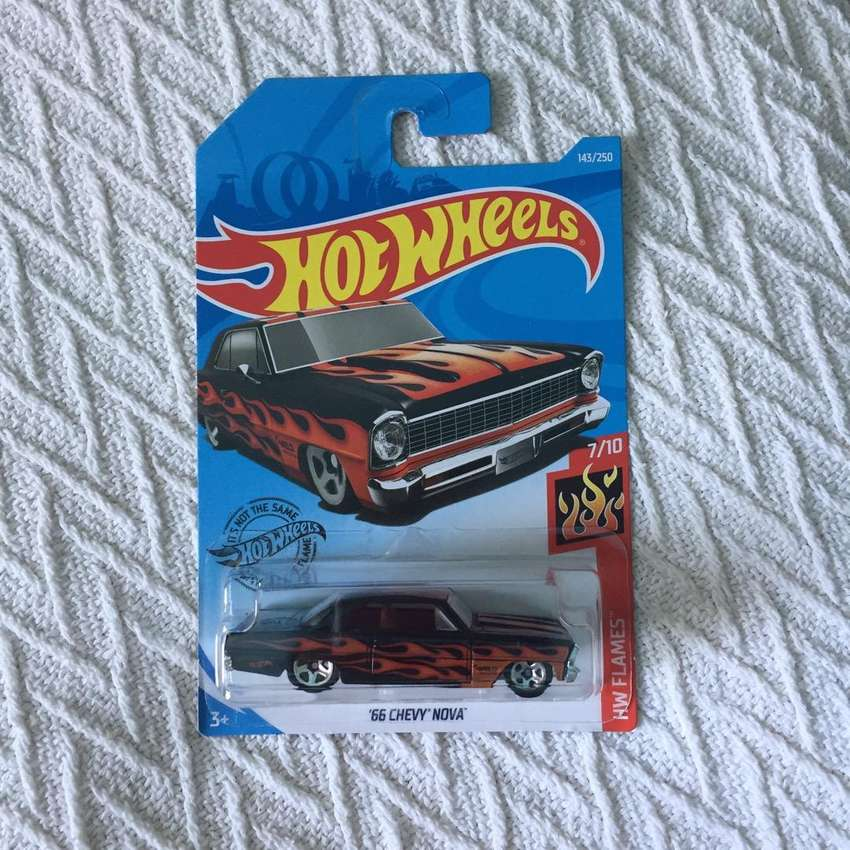 Hot Wheels HW Flames 66 Chevy Nova 0