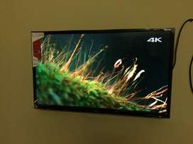 """8.0 android version 42"""" sony panel smart led"""