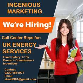 TSR Required For We Established Call Center