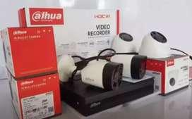 Jual cctv paket komplit kamera 2 MP di cilodong Depok