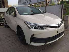 Get New Toyota Corolla Gli (2018) Just on 20% Down Payment..!