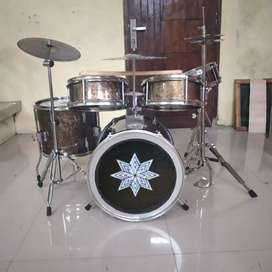 Drum mini super komplit chroom