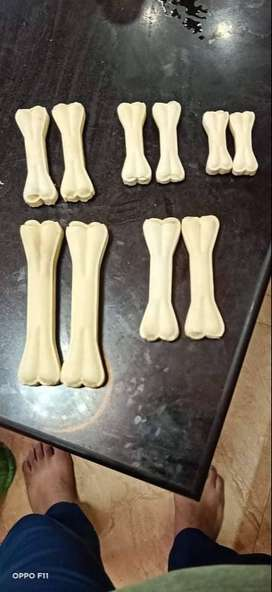 "Dog/pet chew,white bone(3""-8"")-180Rs/kg"