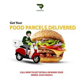 Get Your Food or Parcels Delivered in Lahore