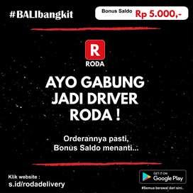 RODA Driver Ojek Online dan Delivery Bali