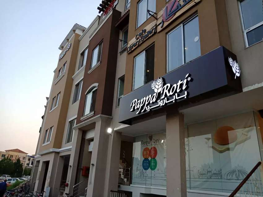 Ground Floor for Rent at Bahria Spring North in front of Clock Tower 0