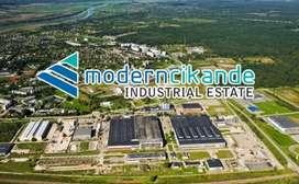 Dijual cepat lahan industri di kawasan industri cikande murah