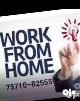 Part time Home based work online ad posting jobs & data entry job 1000