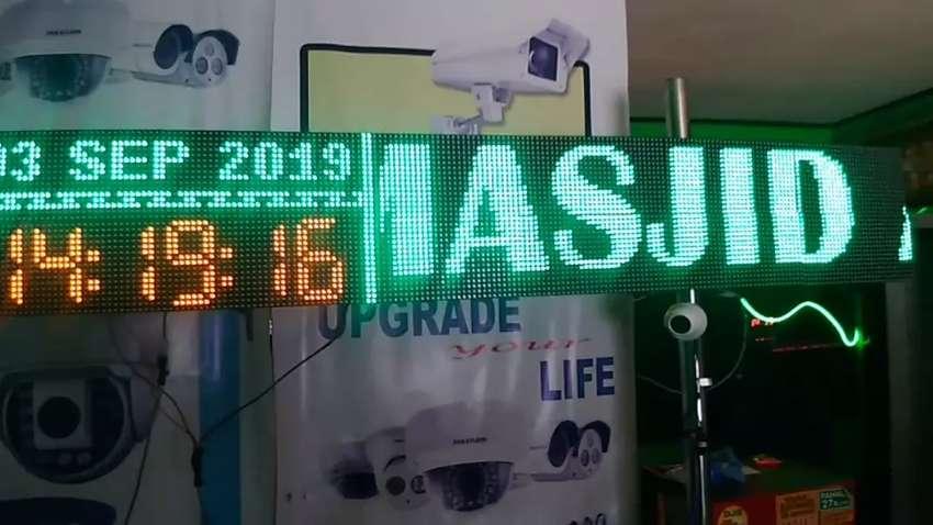 Jam Masjid Musholla Jadwal Waktu Sholat Digital 0