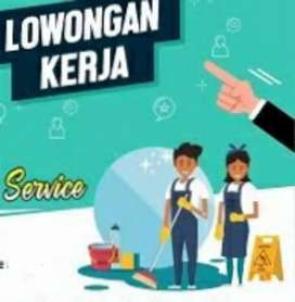 LOWONGAN CLEANING SERVICE