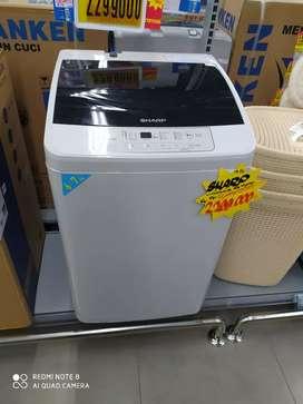 Di kreditkan mesin cuci 6-7 kg tanpa dp proses 3menit