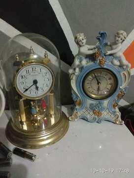 Jual jam meja antik lawas jadul kuno