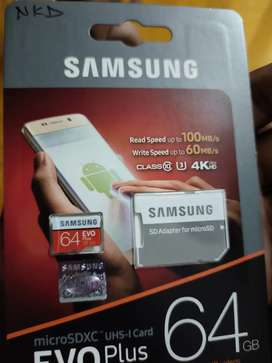 Samsung micro SD card new one  un sealed