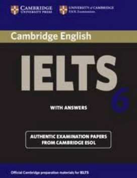 Ielts level 6,7,8 books available