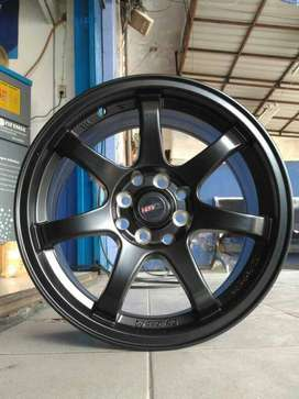 Kredit Velg HSR Black GTR R16x7 Hole8x100-114,3