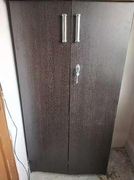 Wooden Multi-purpose Wardrobe with Height 5 feet