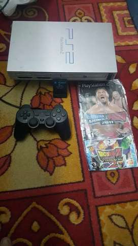 PlayStation 2 fat without box with Orignal Controller mint condition.