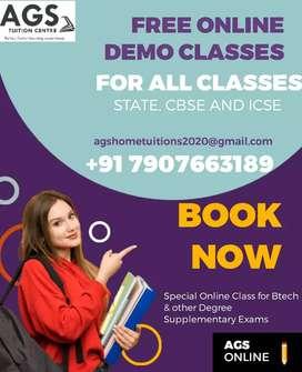 Free online demo class