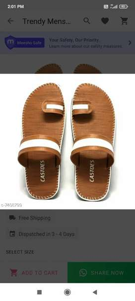 New sandles and sleepers for men