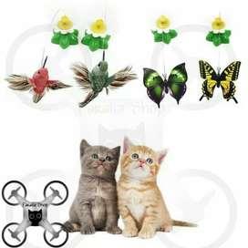 Mainan Kucing Kupu-Kupu Elektrik Electric Cat Toy Butterfly Teaser - K