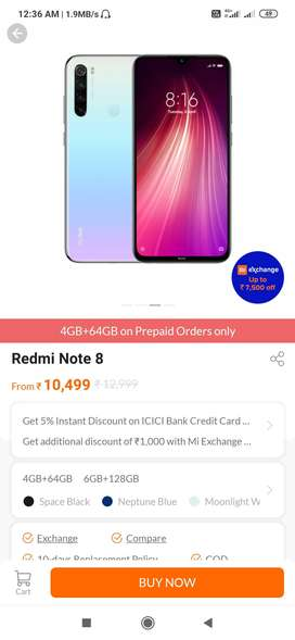 Redmi not 84/64 gb